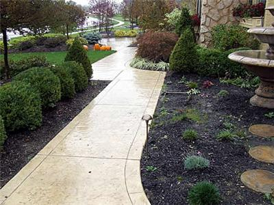 Keep sidewalks clean and clear etiquette school of ohio for Removing concrete walkway